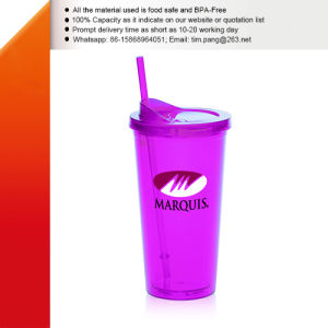 Double Walls Acrylic Plastic Water Tumbler pictures & photos