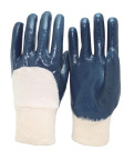 3/4 Nitrile Coated Waterproof Safety Gloves