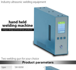 Handheld Shoes Ultrasonic Welding Equipment pictures & photos
