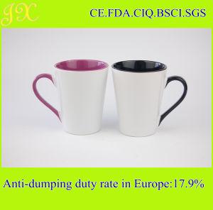 Sublimation Inner & Handle Color Coated Ceramic Coffee Mug