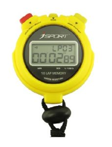 Professional Sports 2 Line LCD Display Digital Stopwatch