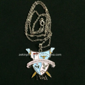 Customized Soft Enamel Metal Medal with Ball Chains pictures & photos