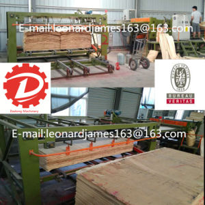 Full Automatic Woodworking Plywood Making Machine Core Veneer Composer Machinery pictures & photos