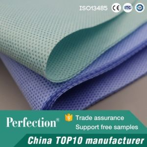 Sterilization Packaging Blue Wrapping SMS Fabric pictures & photos