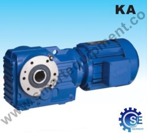 K Series Helical Bevel Gearbox with Hollow Shaft