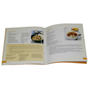 Paper Printing Brochure Book for Food