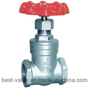 Stainless Steel Threaded Gate Valve