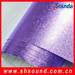 Chrome Silver Car Vinyl Sticker Paper Car Wrapping Film (Air Bubble Free) 1.52X30m pictures & photos