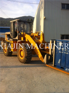 Loading Slab Wheel Loader Used in Factory pictures & photos