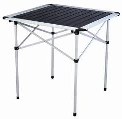 Aluminum Alloy Portable Folding Table pictures & photos