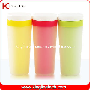 400ml Double Wall Plastic Cup Lid (KL-5006) pictures & photos