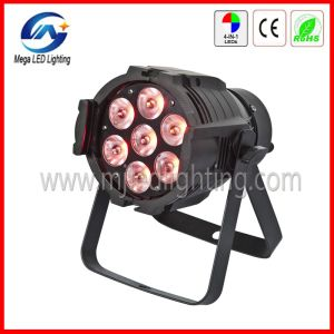 7*10W RGBW Quad Color DMX LED PAR