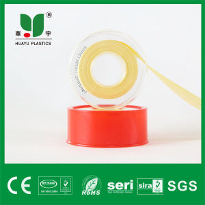 19mm Popular Yellow High Denisty PTFE Tape, Teflon Tape pictures & photos