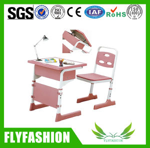 Newest Classroom Furniture Adjustable Single Desk Set for Sale (SF-14S) pictures & photos