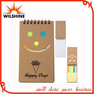 Eco Friendly Smile Face Recycled Notepad (NP129) pictures & photos