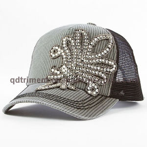 Fashion Rhinestone Applique Thick Stitching Leisure Trucker Hat (TM666502015099A) pictures & photos