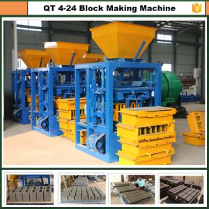 Dongyue Qt4-24 Hot Selling Block Making Machine for Sale in Malaysia pictures & photos
