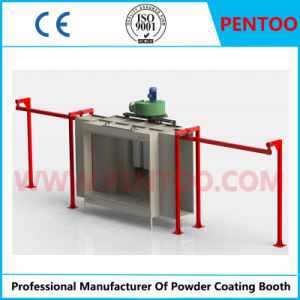 Customized Manual Powder Coating Booth for Electrostatic Powder Coating pictures & photos
