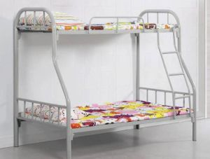 Factory Direct Price Metal Bunk Bed with Storage Cabinet pictures & photos