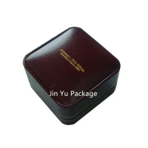 Round Corner Gift Jewelry Box with Gold Foil Hot Stamping Logo pictures & photos