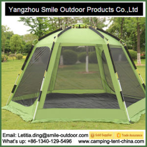 Aluminium Structure Mosquito Hexagon Camping Tent pictures & photos