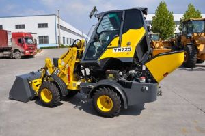 Hot Sale Mini Wheel Loader Yn725g pictures & photos