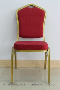 Hotel Furniture Steel Chair Stackable Comfortable and Strong Banquet Chair