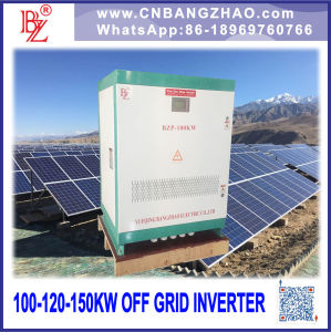 Big Power 100kw Stand Alone System Hybrid Inverter with AC Input pictures & photos