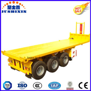 3 Axles 20FT Container Transport Dumper Trailer pictures & photos