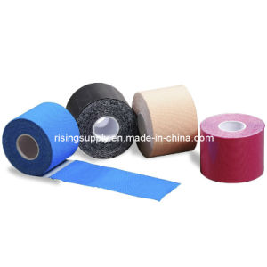 Colorful 100% Cotton Elastic Sports Tape (HS-360) pictures & photos