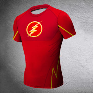 Men′s Tights Flash Man Sport T-Shirt Dress