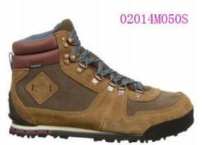 High-Top Suede Waterproof Hiking Shoes pictures & photos