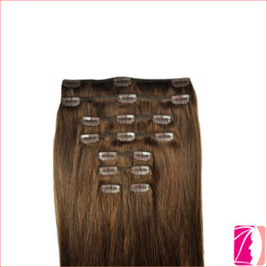 8-32inches Remy Weave Clip in Hair Extension