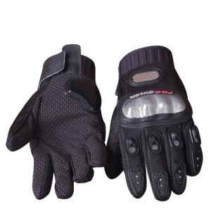 Custom Logo Designed Motorcycling Gloves pictures & photos