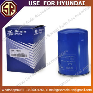 High Quality Low Price Auto Oil Filter for Hyundai 26311-45010 pictures & photos