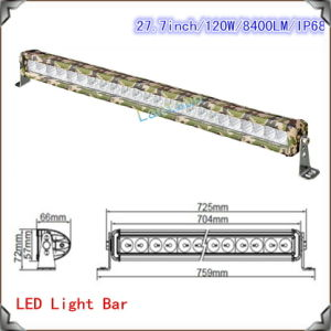 New Camouflage LED Light Bar 13-120W CREE Waterproof pictures & photos