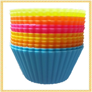 Non-Stick BPA-Free Silicone Cupcake Liners