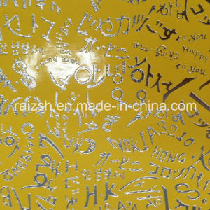 Metal Bronzing PU Leather Fabric for Textile / Bag pictures & photos