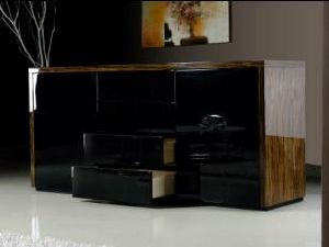 China Modern Home Furniture Living Room Wood Storage Cabinet Sm W09 China Modern Home