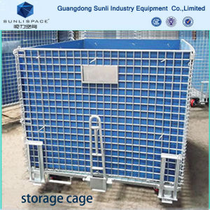 Logistic Warehouse Mesh Box Pallet Storage Cage pictures & photos