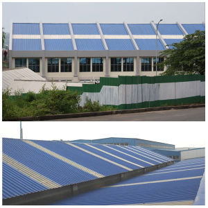 Fiber Glass Reinforced Long Span Industrial Roof Sheet pictures & photos