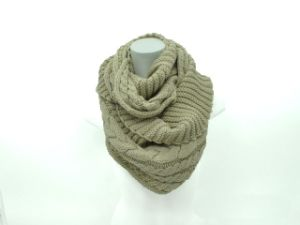 Winter Warm Knit Scarf (FB-90528) pictures & photos