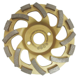 Stone Diamond Grinding Cup Wheel pictures & photos