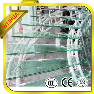 Tempered Laminated Glass Stair with CE/ISO/CCC/SGS pictures & photos