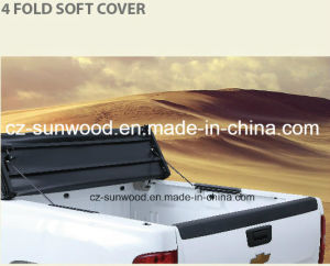 4 Fold Soft Tonneau Cover pictures & photos