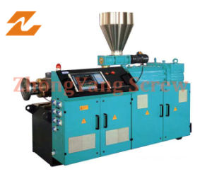 Twin Parallel Screw Extruder Double Screw Extruder pictures & photos