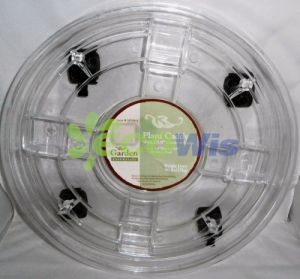 Plant Caddy with Wheels Transparent China Supplier pictures & photos