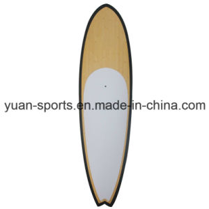 Bamboo Veneer Surface 10′ Paddle Board Hard