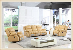 Living Room Furniture Leather Recliner Sofa, Leather Sofa Bed (A-2723)