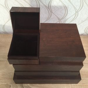 Classic Jewelry Wooden Like Packing Gift Box pictures & photos